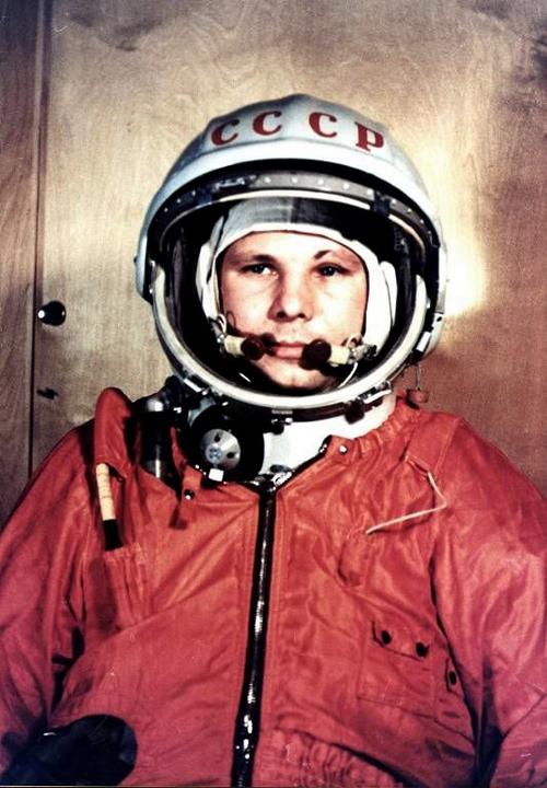 1. Yuri Gagarin