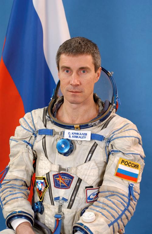 4. Sergei Krikalev